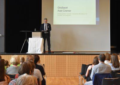 Axel Cremer, Abteilungsleiter Soziales, Hessisches Ministerium für Soziales und Integration