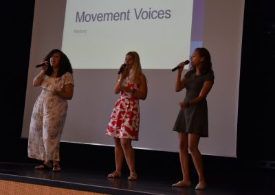 Movement Voices, Jugendgesangsgruppe aus Marburg