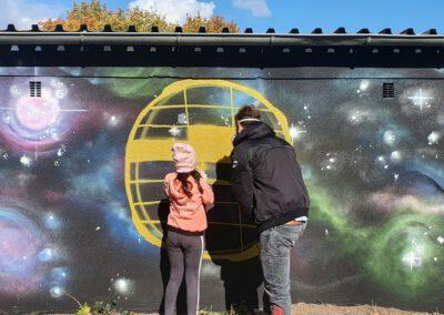 Gießen-Weststadt: Graffiti-Projekt