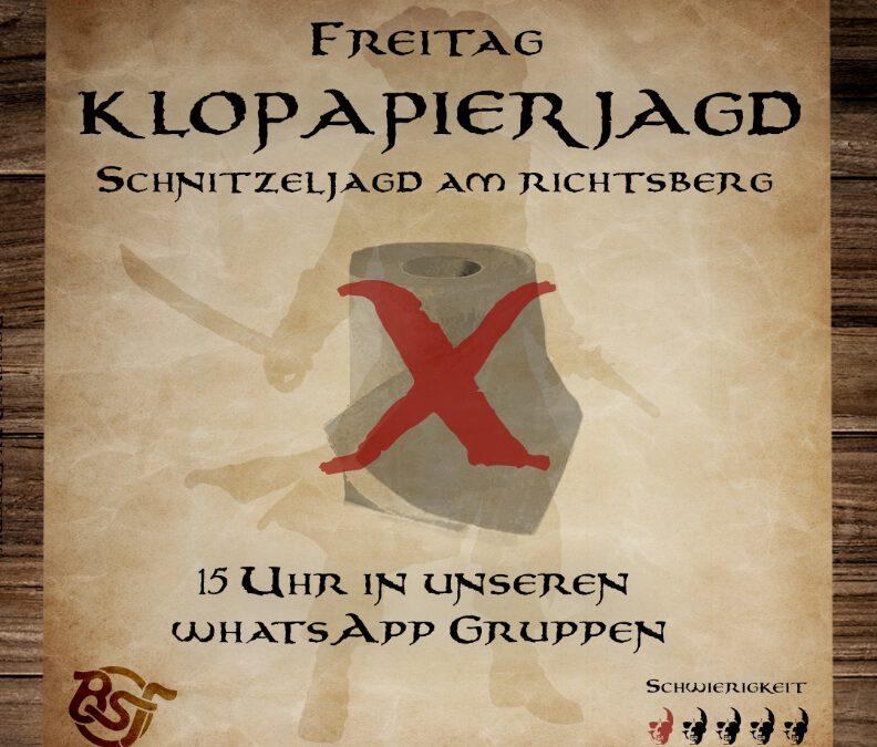 Marburg Richtsberg: Klopapierjagd für Jugendliche